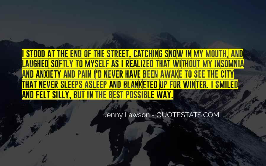 Quotes About Winter And Snow #106829