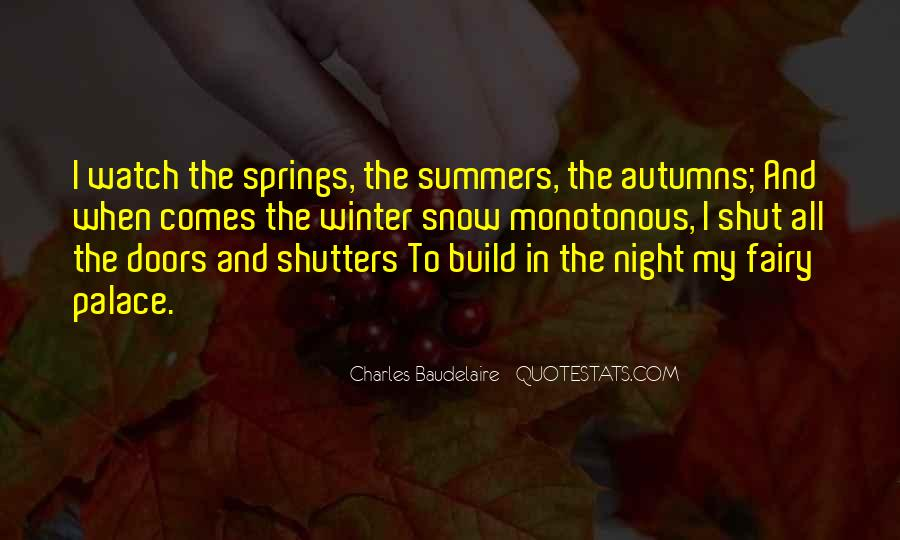 Quotes About Winter And Snow #1075897