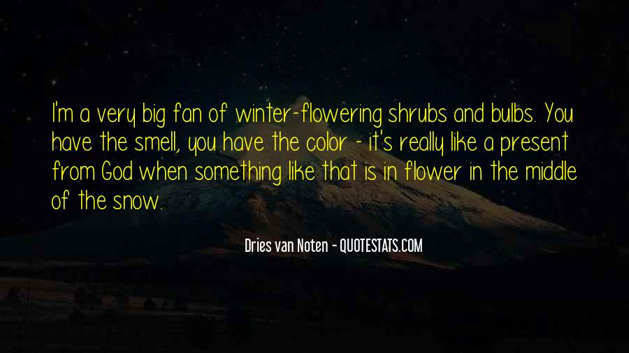 Quotes About Winter And Snow #1164213