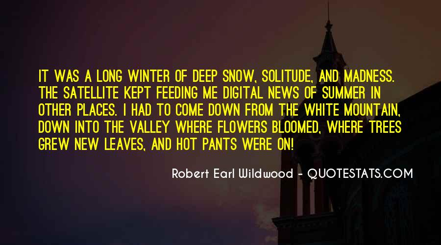Quotes About Winter And Snow #1271867
