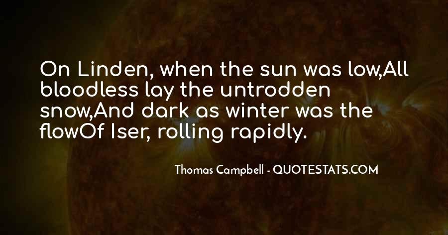 Quotes About Winter And Snow #1293230