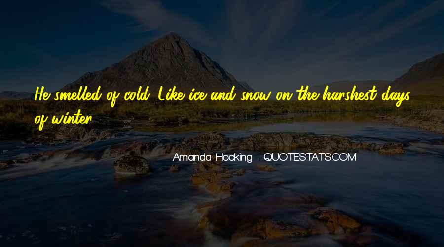 Quotes About Winter And Snow #177765