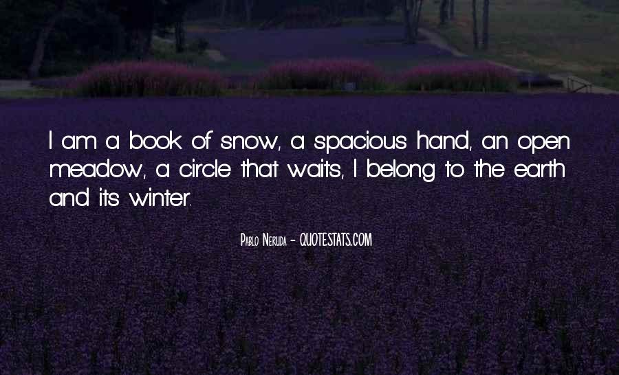 Quotes About Winter And Snow #204680