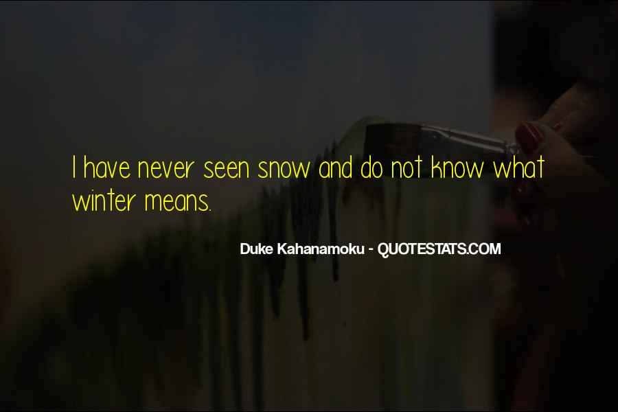 Quotes About Winter And Snow #214921