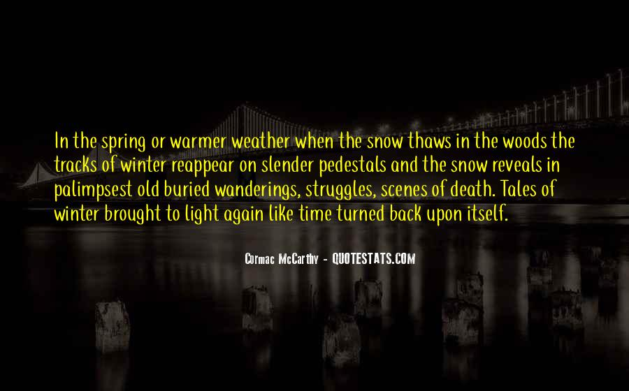 Quotes About Winter And Snow #254639