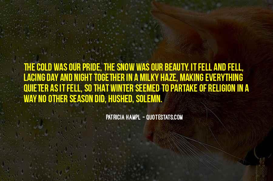 Quotes About Winter And Snow #25869