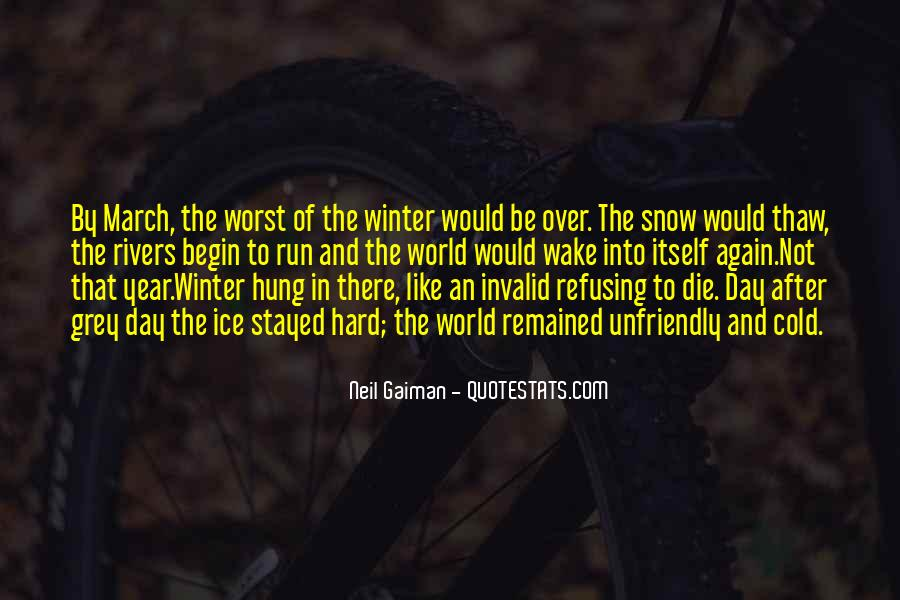 Quotes About Winter And Snow #337195
