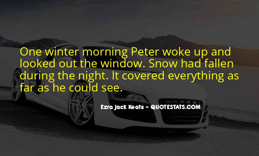 Quotes About Winter And Snow #436185