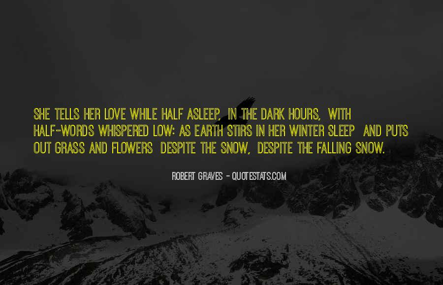 Quotes About Winter And Snow #63349