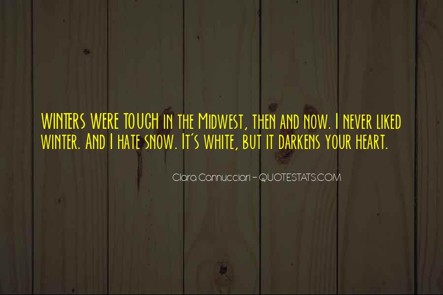 Quotes About Winter And Snow #656989