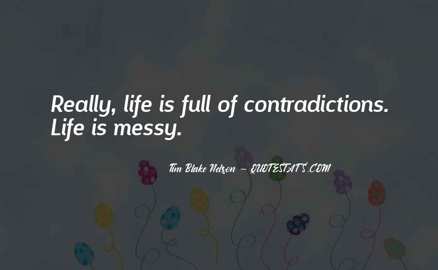 Quotes About Contradictions #151062