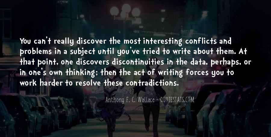 Quotes About Contradictions #174730