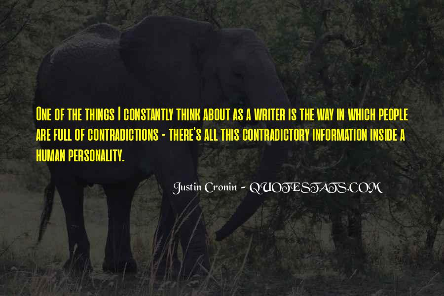 Quotes About Contradictions #191125