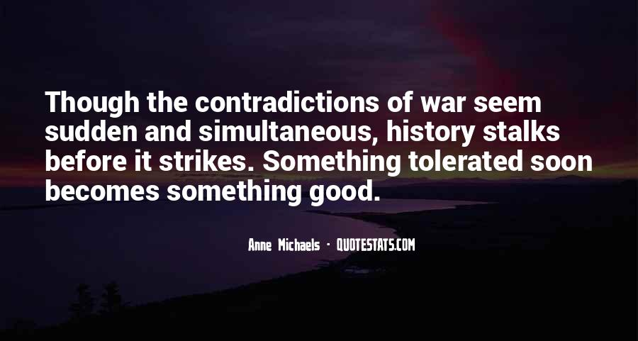 Quotes About Contradictions #204138