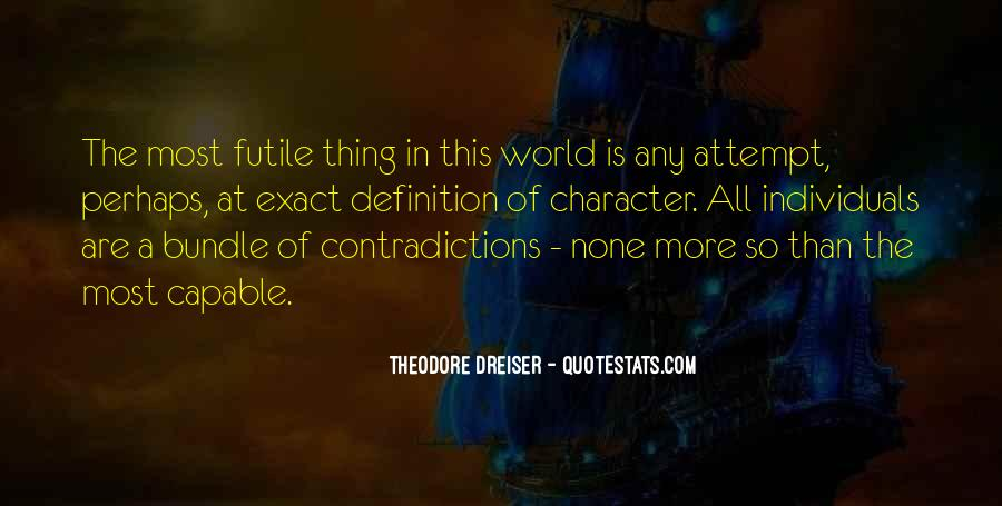 Quotes About Contradictions #297925