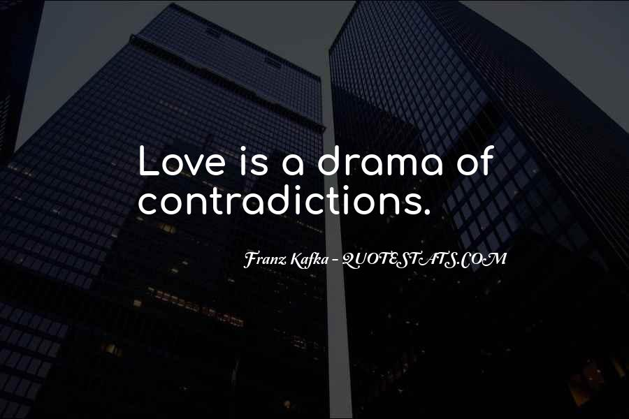 Quotes About Contradictions #450938