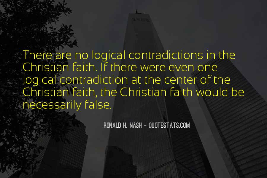 Quotes About Contradictions #56203