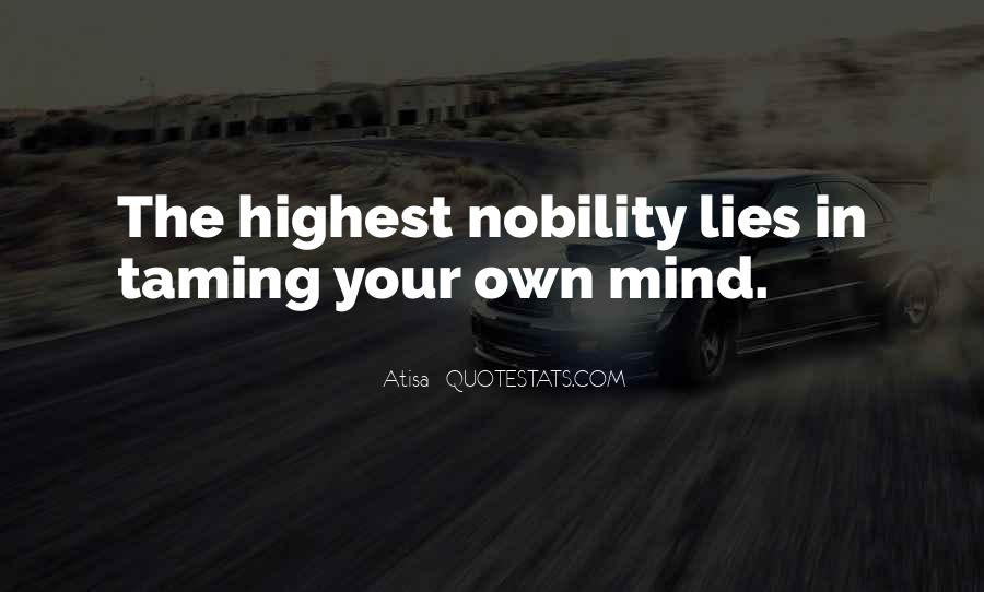 Quotes About Taming The Mind #1376337
