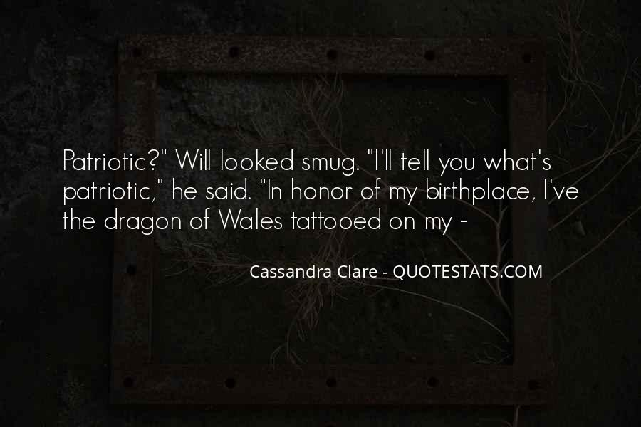 Quotes About Patriotic Wales #1399846