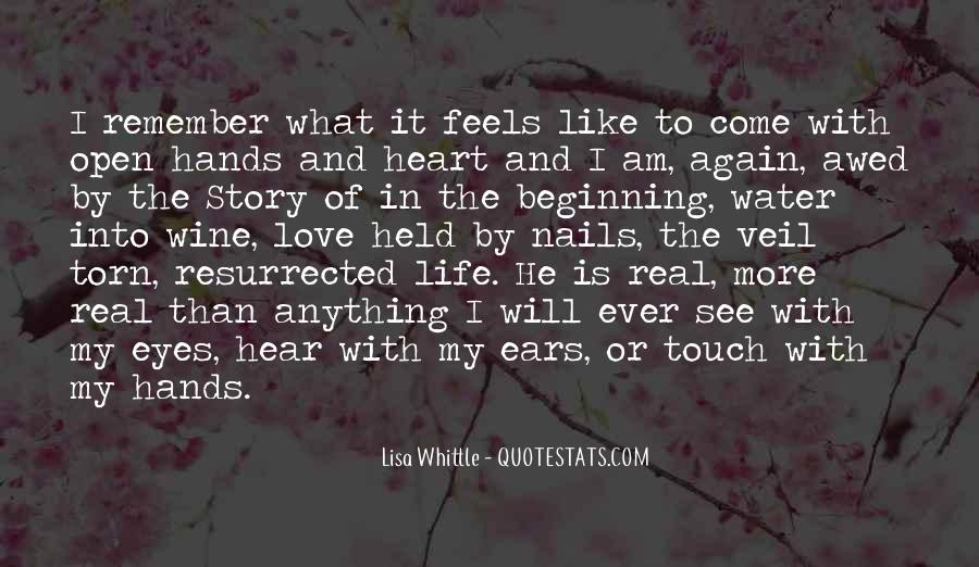 Quotes About The Beginning Of A Love Story #1226335