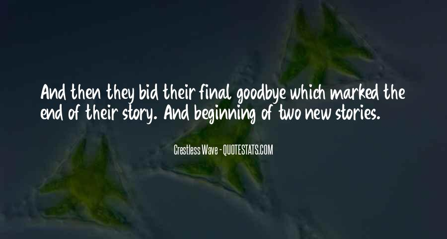 Quotes About The Beginning Of A Love Story #1372579