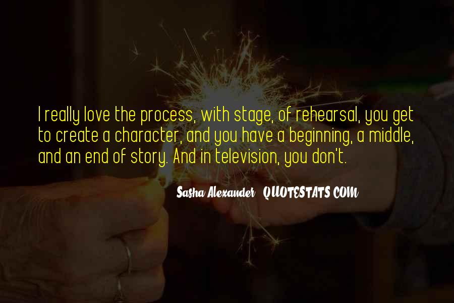 Quotes About The Beginning Of A Love Story #1483966