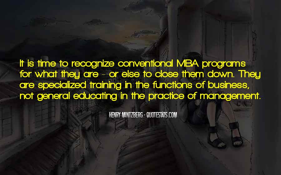 Quotes About Mba #1058851