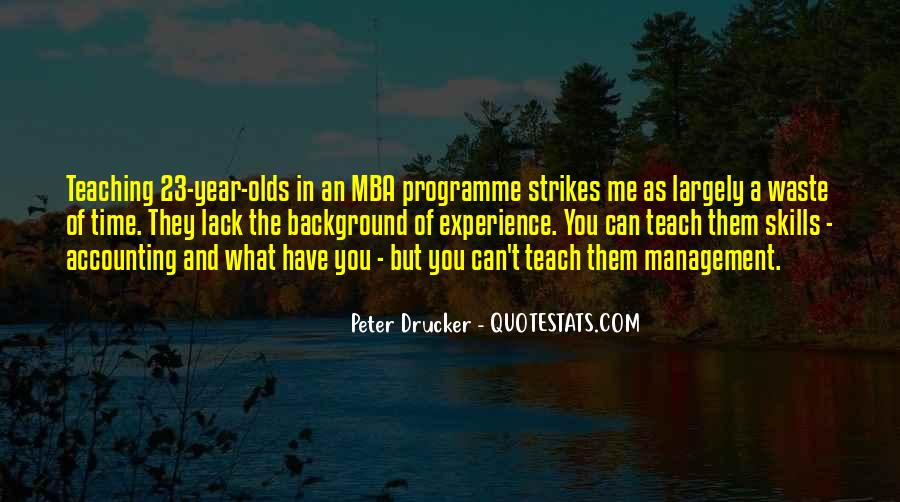Quotes About Mba #1254133