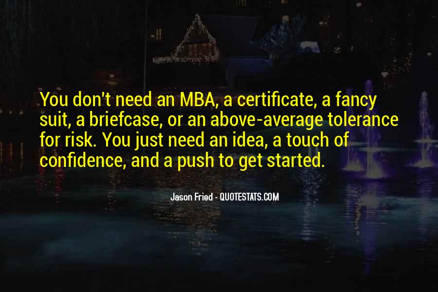 Quotes About Mba #1749883