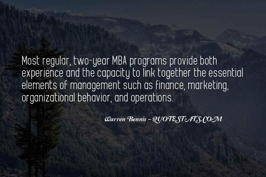 Quotes About Mba #1870028