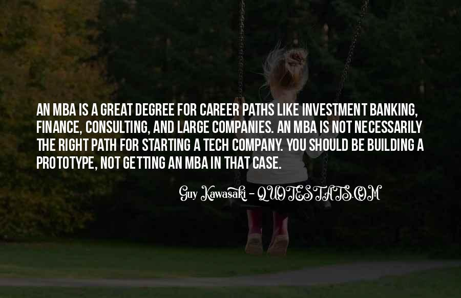 Quotes About Mba #488324