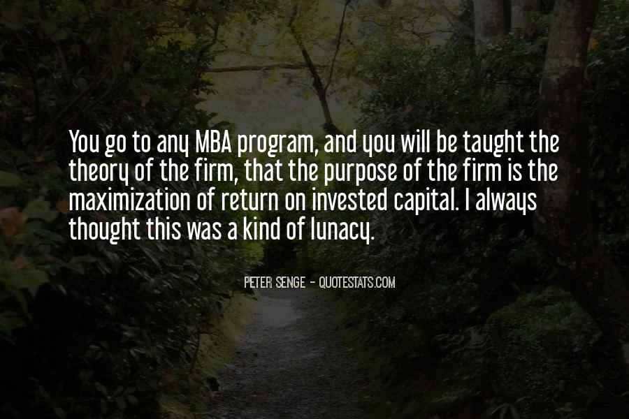 Quotes About Mba #565484
