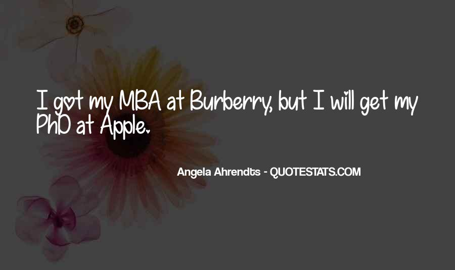 Quotes About Mba #571022