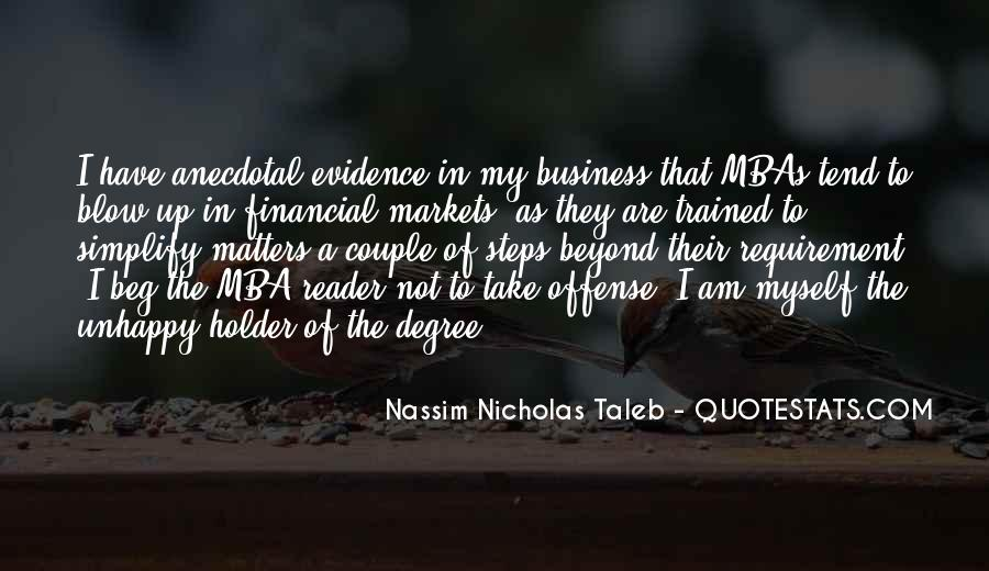 Quotes About Mba #58040