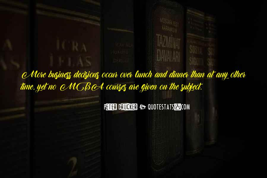 Quotes About Mba #854317