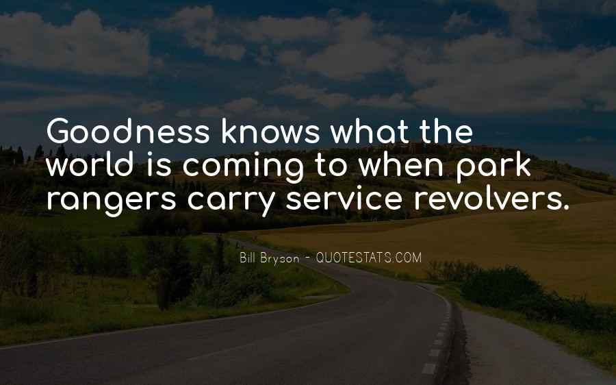 Quotes About Park Rangers #1756709