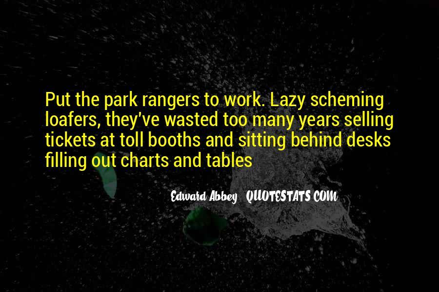 Quotes About Park Rangers #706852