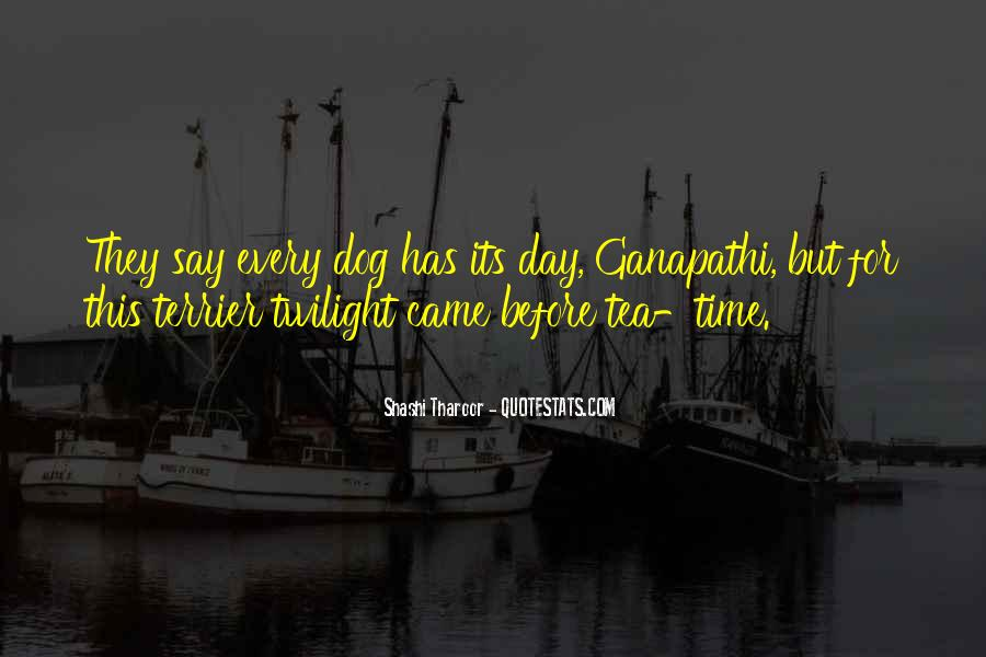 Quotes About Twilight Time Of Day #1113747