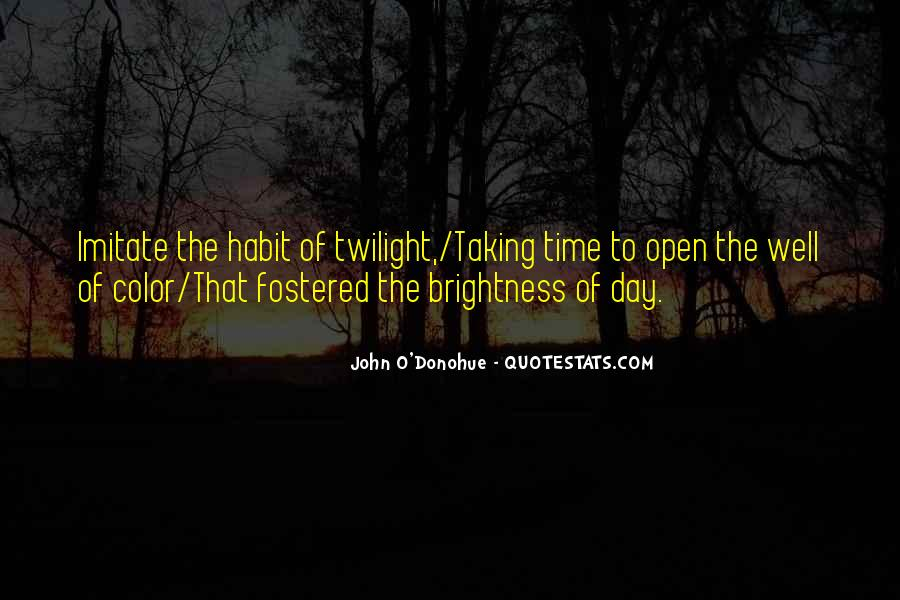 Quotes About Twilight Time Of Day #826513