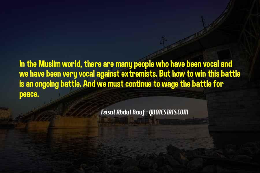 Quotes About Muslim Extremists #1511235