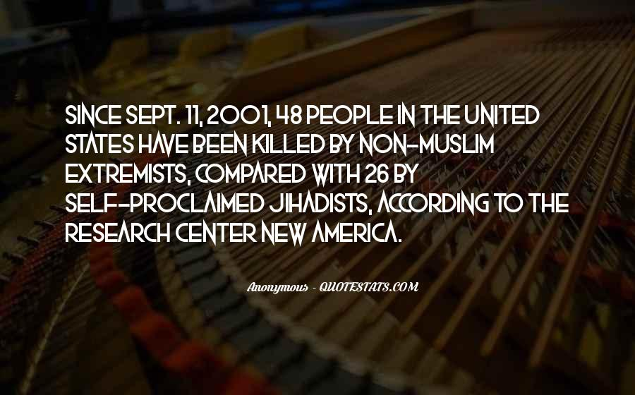 Quotes About Muslim Extremists #1814366