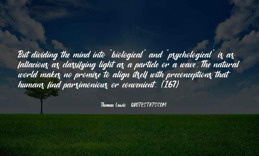 Quotes About Biological Psychology #1568145