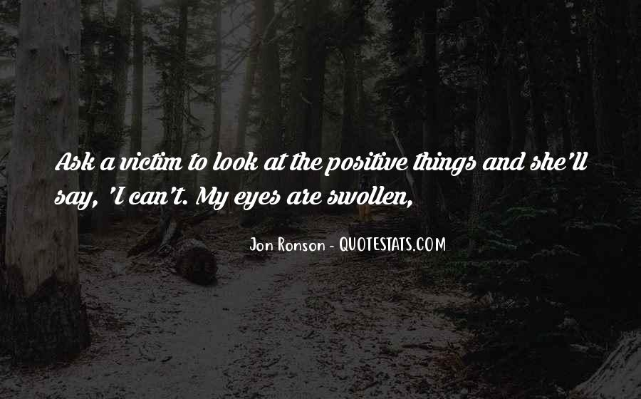 Quotes About Swollen Eyes #1864893