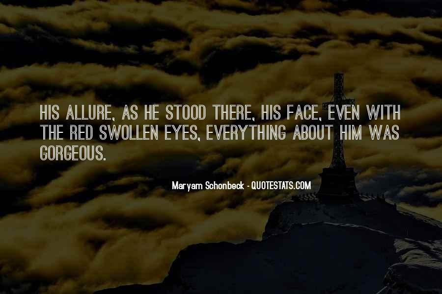 Quotes About Swollen Eyes #97243