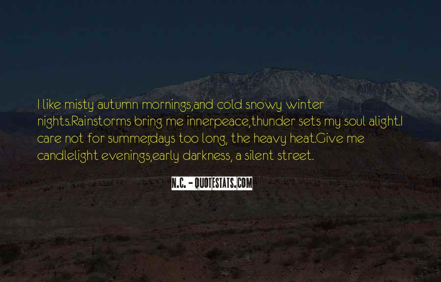 Quotes About Early Winter #1293262