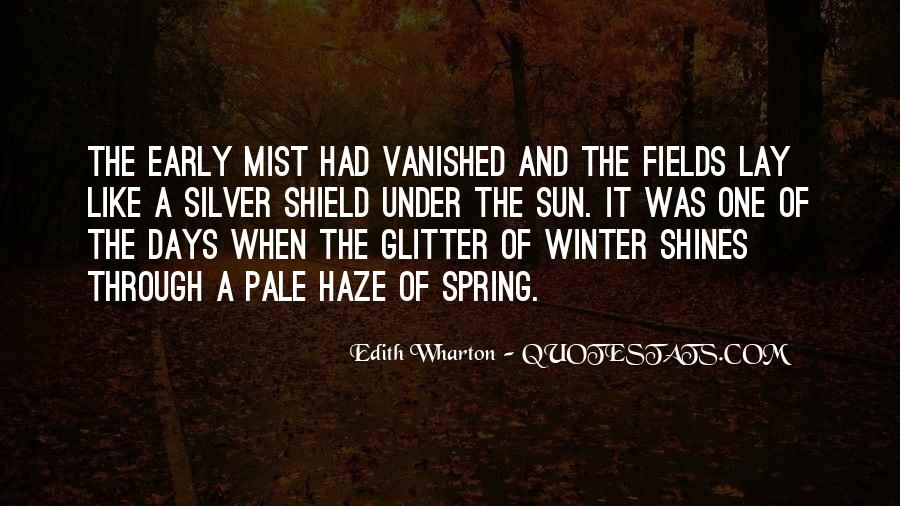 Quotes About Early Winter #1320791