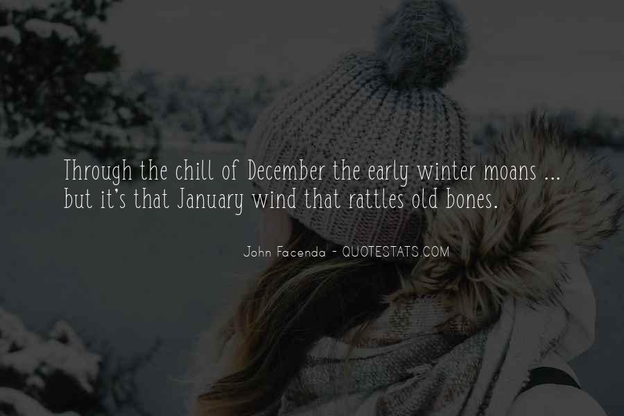 Quotes About Early Winter #1644501