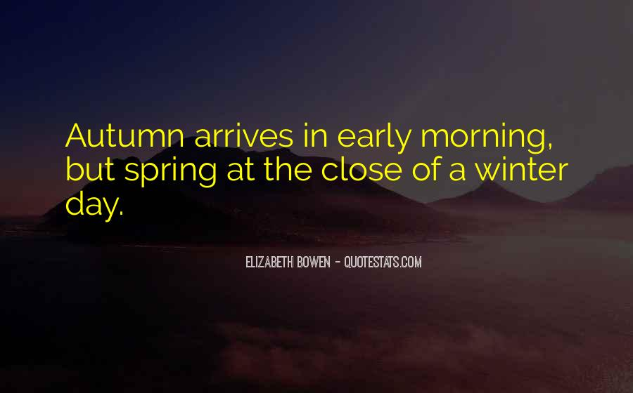 Quotes About Early Winter #1847034