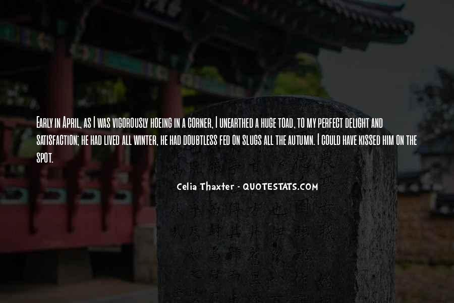 Quotes About Early Winter #348267