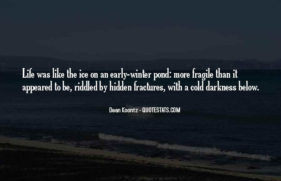 Quotes About Early Winter #600491